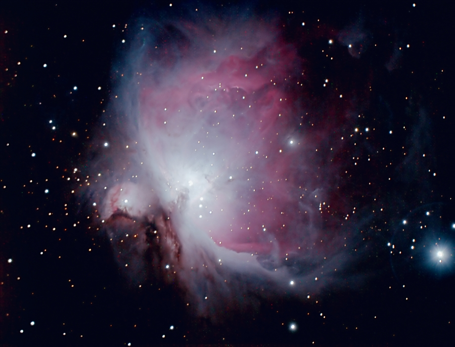 Great Orion Nebula Viewed through Binoculars In - Pics ...